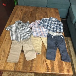 Other - 3 set of boy's shirts and pants